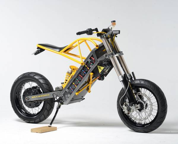 scooter in pieces